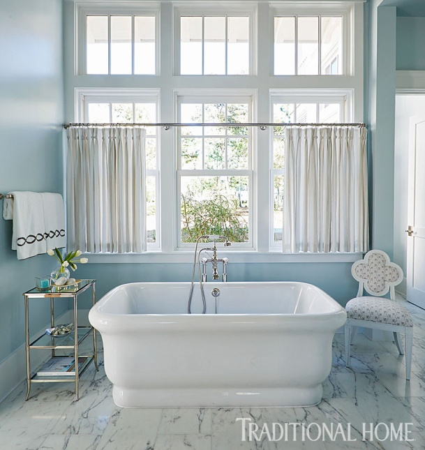 Master Bath with Soaking Tub by Waterworks, Mary McWilliams