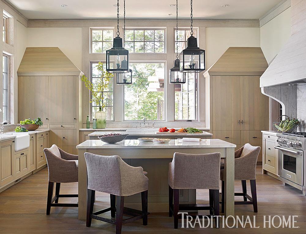 white oak kitchen flooring custom finish peter block architect