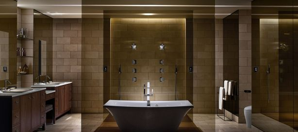 Artist Inspired Spa-Worthy Bathroom by Kohler