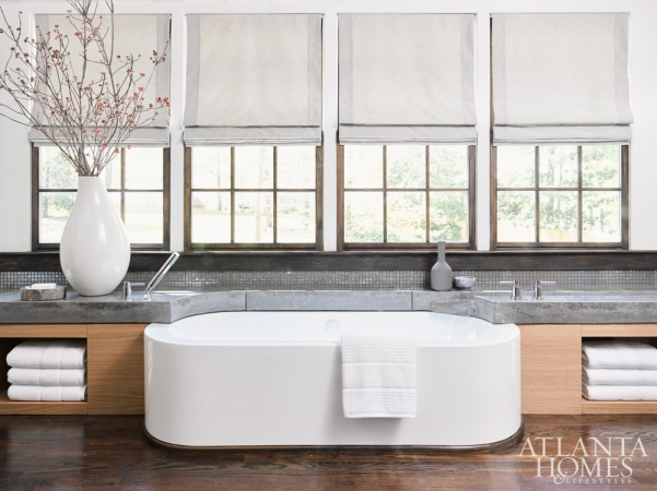 Luxury Soaking Tub, Rothman + Rothman