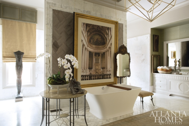 Luxurious Master Bath, SmithBoyd Interiors