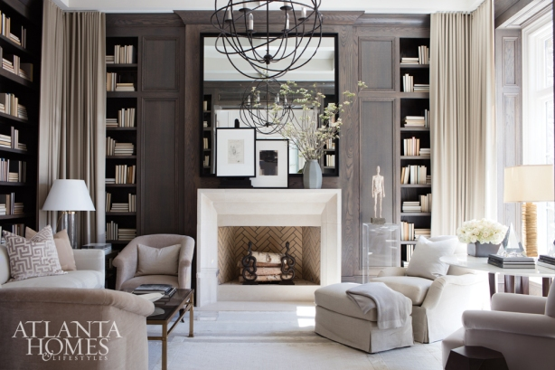Graceful Study, Robert Brown Interior Design