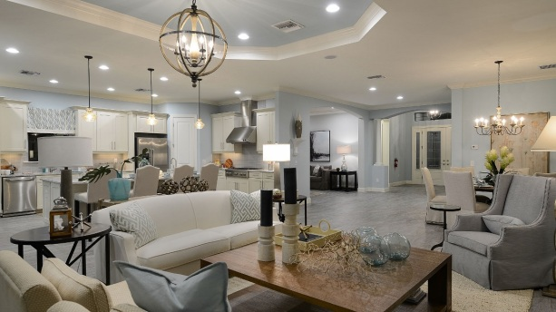 Open Floor Plan, Taylor Morrison Home Builder