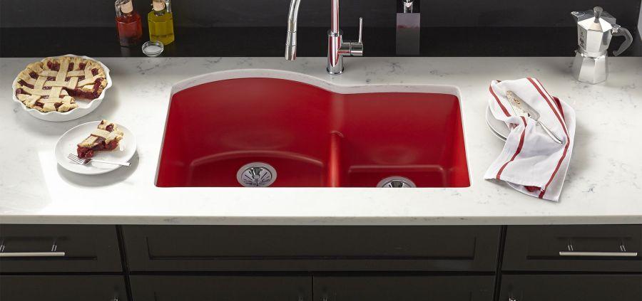 Quartz Luxe Collection, Maraschino Color Finish, Elkay