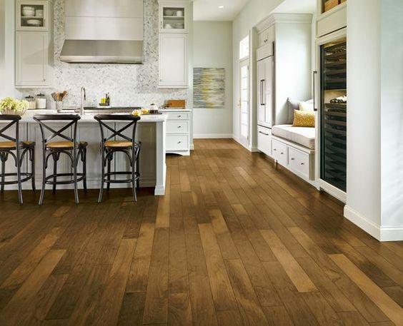 Elegant Kitchen with Engineered Hardwood Floors, Armstrong