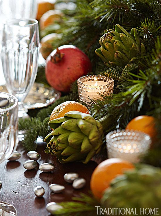 holiday-tables-centerpiece-w-scent-the-air-by-lonnie-paul-thlorettajwillisAmazing Scented Centerpiece with Cinnamon Sticks, Satsuma Oranges, Pomegranates, Olive Branches, Evergreen, Magnolia Leaf Garland, Lonnie Paul, Traditional HomeFresh Greenery Layered with Soft Palette of Metallic Bronze, Gold & Silver Accents, Amy Morris InteriorsBreathtaking View of this Blue & White Themed Dining Room, Amy Morris InteriorsFestive Tabletop with Metallic and Shimmery Fabric, Megan WintersHoliday Table with Festive Metallics, Megan Winters Classic Holiday Table with Vintage Furnishings, John CialoneGorgeous Fresh Cut Flowers, Peonies, Ranunculus, White Hydrangeas Mixed with Pinecones, Ornaments and Branches, Lonnie Paul