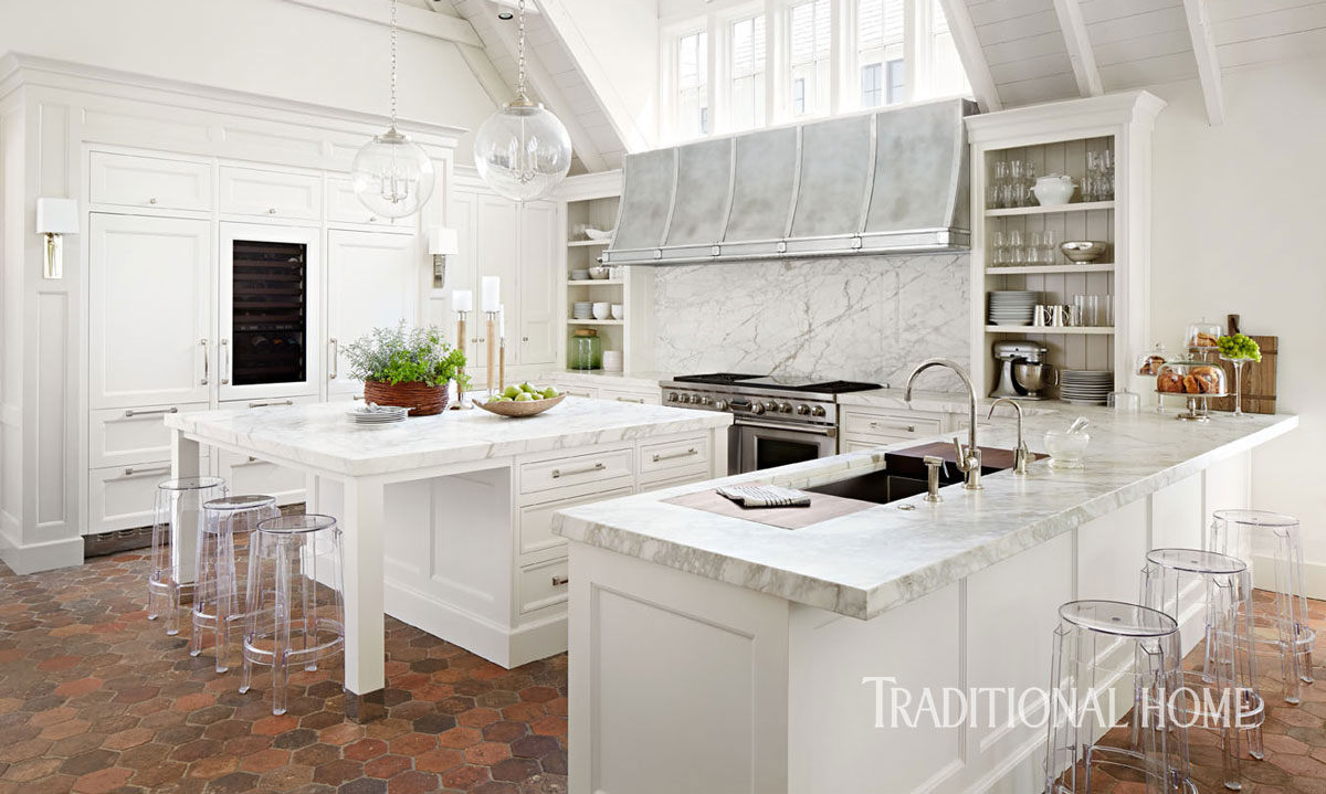 Inspired design white kitchen trends loretta j willis for Kitchen design trends