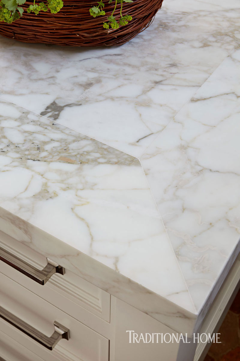 white kitchen trends 2017, Marble countertop trends