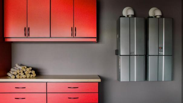 hgtv smart home 2017, garage w-tankless water heater