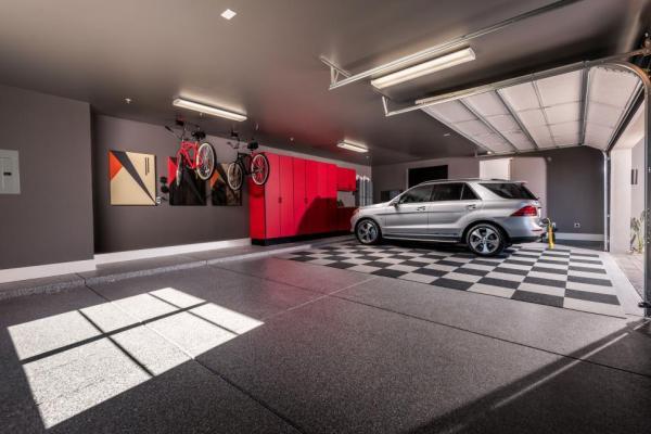 hgtv smart home 2017, garage