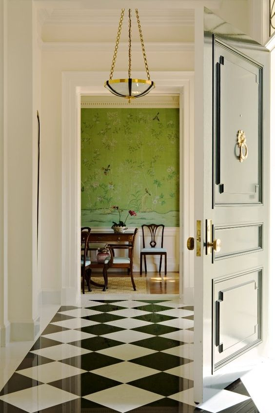 color trends 2017, wallpaper trends 2017, pantone greenery