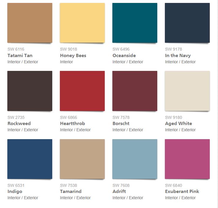 Color trends sherwin williams colormix 2018 loretta j - Trending exterior house colors 2017 ...