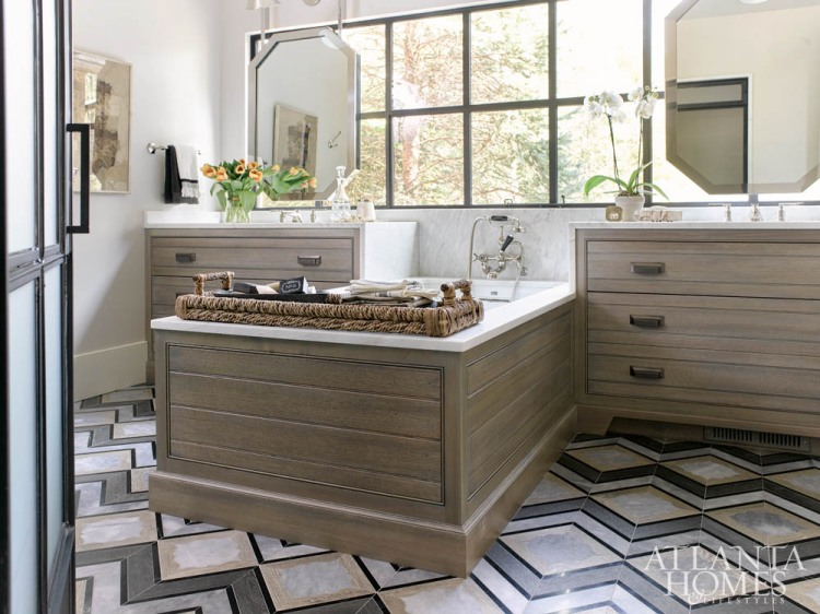 luxury bath trends 2018, cabinet color finishes