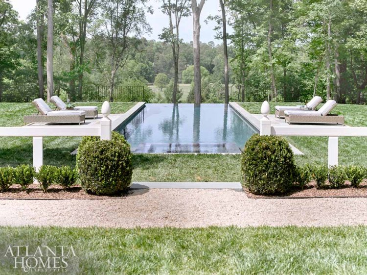 outdoor living, decorator showhouse trends 2018