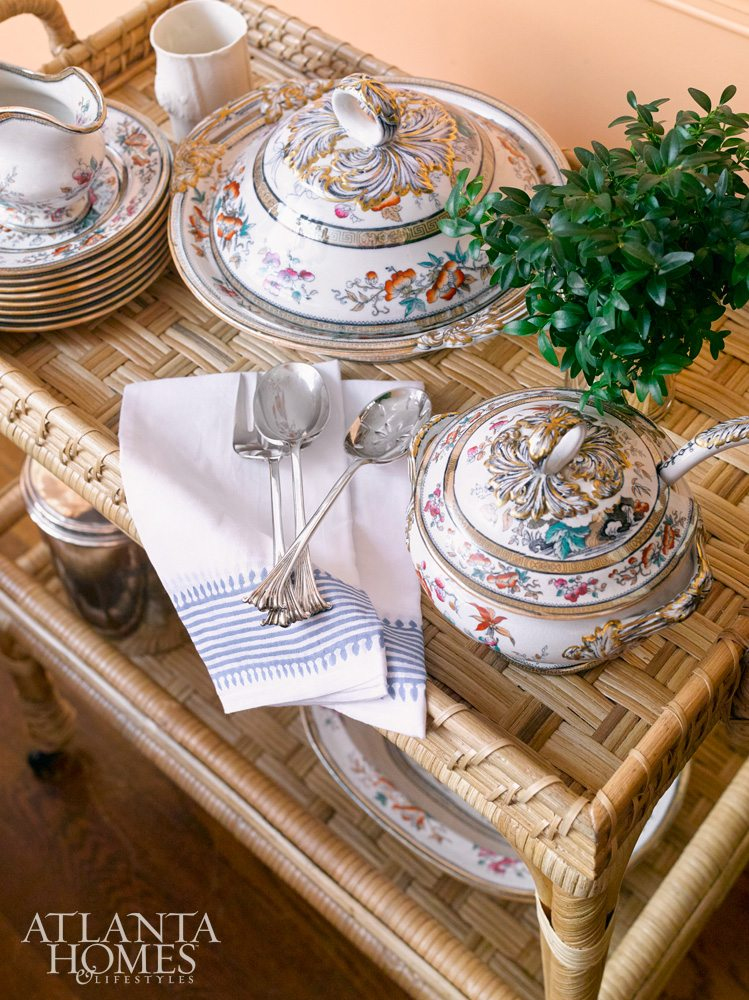 tablescape, holiday trends