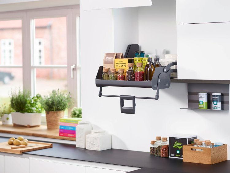 kitchen trends 2018, storage solutions