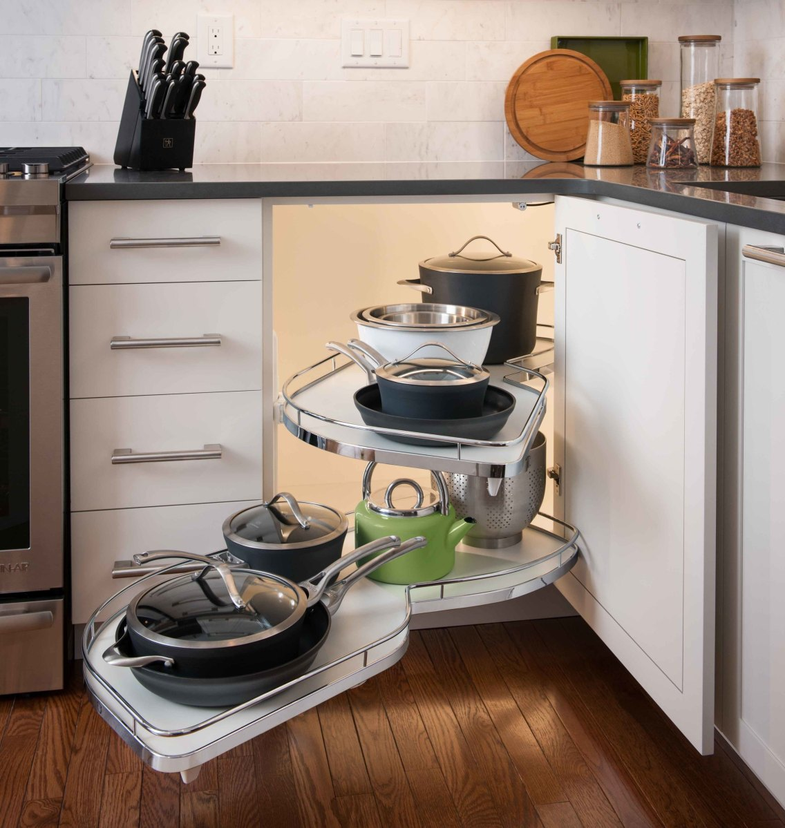 Kitchen Cabinet Ideas 2018: Kitchen Appliance & Storage Trends 2018