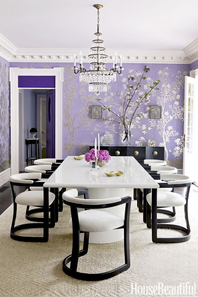 color trends 2018, wallpaper trends 2018, pantone ultra violet