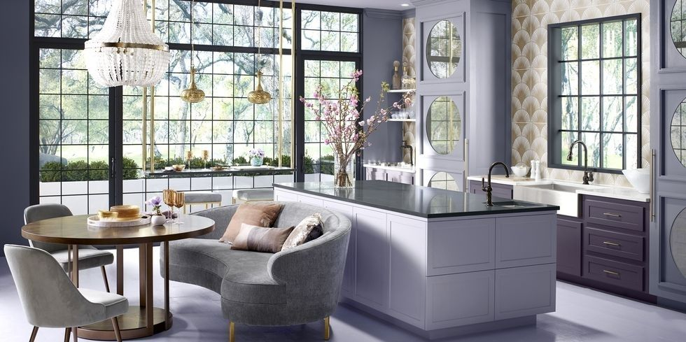 pantone-color of the year 2018, purple kitchen by Denise McGara, HBlorettajwilliscabinet color trends, kitchen trends 2018color trends 2018, pantone ultra violetcolor trends 2018, wallpaper trends 2018, pantone ultra violetcolor trends 2018, pantone ultra violet, home trendscolor trends 2018, wallpaper trends 2018, home trendscolor trends 2018, home trends 2018, pantone ultra violet
