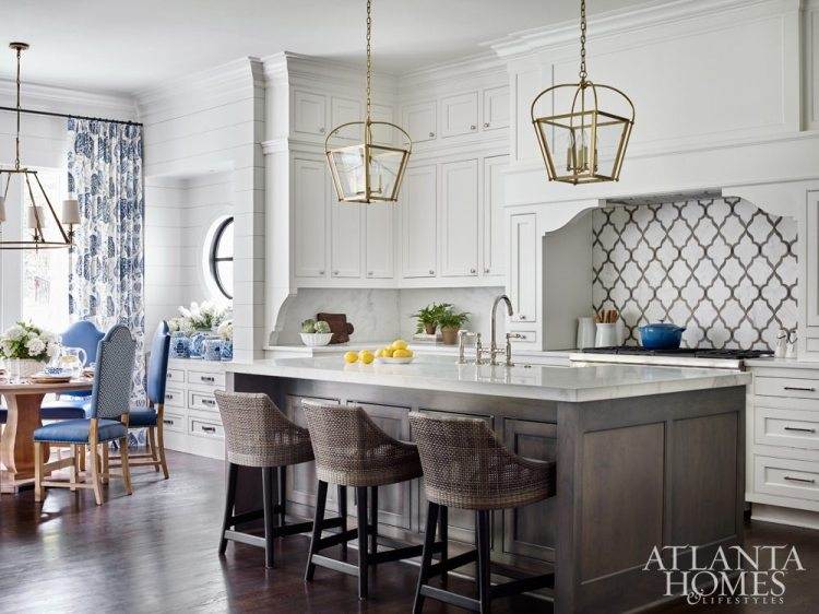 kitchen trends 2018, cabinet color trends