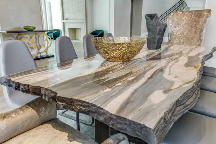 countertop trends 2019, natural stone