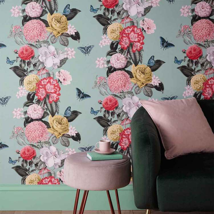 wallpaper trends 2020, wallcovering trends
